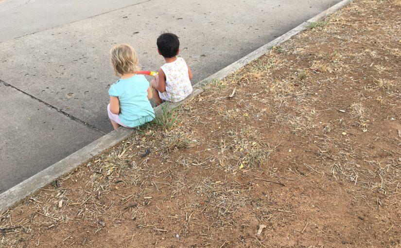 Eine Kinderfreundschaft.