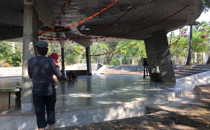 Tango tanzen in Auroville