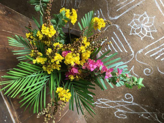 Blumen bei Paaka
