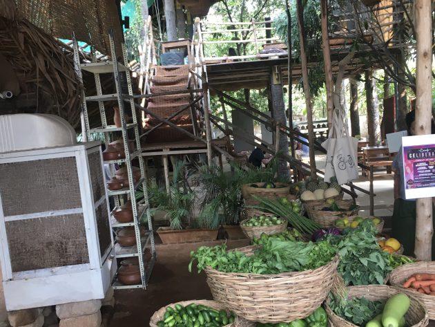 Eingangsbereich Paaka